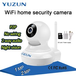 Wholesale Wireless Security Camera Wifi Ptz - P2P APP Controlled Reliable home security alarm system IP camera wireless WIFI for house safe robot ptz camera