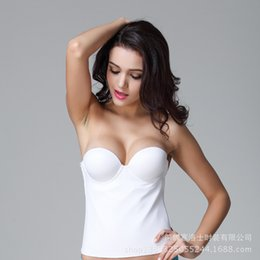 Wholesale One Strap Tight Sexy Dress - Sexy White Tight Sweetheart Bridal Wedding Dresses Underwear Wholesale White Without Strap Sweetheart Tight Women Underwear 10