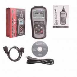 Wholesale Obd Fault - Newest Version MaxiScan MS609 OBD2 OBDII OBD 2 Scanner Code Reader Car Vehicle Engine Fault Diagnostic Scanner Tool