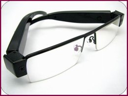 Wholesale Hd Eyeglass Camcorder - V13 SPY 1080P Full HD Digital Video recorder Glasses Camera Eyewear DVR Camcorder hot Eyeglass mini DV USB Disk PC webcam video camcorder