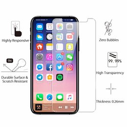 Wholesale Mixed Modelling - Mix Models ZTE Zmax pro 9H Glass Screen Protector For iPhone X 8 7 6s Plus Galaxy S7 Grand Prime G530 LG K7 LS770 LS775 Stylus 2 no package