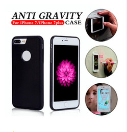 Wholesale Hanging Magic - Anti Gravity Adsorption Protective Creative Magic Hanging Mobile Phone Case Cover for Iphone 6 6 plus