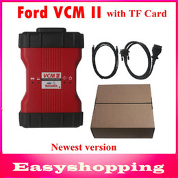 Wholesale Oem Scanner - Ford VCM II IDS V86 OEM Level Diagnostic Tool support 2014 ford vehicles FORD VCM 2 OBD2 Scanner FORD IDS VCM2 full chip with TF Card