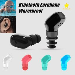 Wholesale Bluetooth Wireless Mobile Phone Headset - Mini Bluetooth Wireless Earphone Single Headohone Headset Sport Waterproof In-ear Earphone for all Mobile Phone with Retail Package