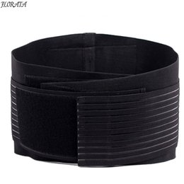 Wholesale Tummy Control Girdle - Wholesale- FLORATA Women & Men Body Shaper Slimming Belt Waist Tummy Girdle Belt Waist Cincher Underbust Control Corset Firm Waist Trainer