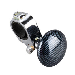 Wholesale Hand Control Knob - New DIY Steering Covers Car Parts Auto Hand Control Power Handle Grip Spinner Knob Car Steering Wheel Ball Booster Strengthener order<$18no