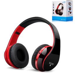Auscultadores baratos bluetooth iphone on-line-Dobrável barato fone de ouvido sem fio bluetooth 4.0 handsfree esportes correndo fone de ouvido estéreo com caixa de varejo para iphone samsung lg
