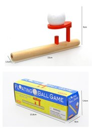 Wholesale Wooden Games Outdoor - Floating Ball Game Box Toys Baby Wooden Toys Schylling Blow Hobbies Outdoor Fun Sports Toy Ball Game Foam Floating Ball