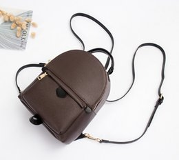 Wholesale Spring Women Handbags - FREE SHIPPING AAAA NEW 2017 BAG 100% leather NEW PALM SPRINGS BACKPACK MINI handbag SMALL NEW PALM SPRINGS BACKPACK MINI HANDBAG school bags