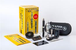 Wholesale Vaped Micro - Vaped Micro Nectar Collector kit v4 ultra-portable smoking water Glass pipe with Titanium nail Quart Tip vs Honeybird