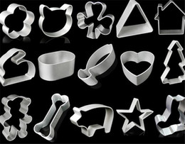 Wholesale Die Cutters - cartoon animal stainless steel cookie cutter 0.3mm Thickness fruit cutting die cupcake stamp mold