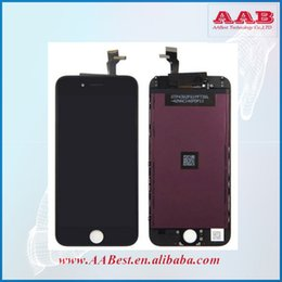 Wholesale Hot Touch Digitizer - Hot Selling Tested One By One Twice 4.7inch Display With Digitizer For iPhone 6 LCD Touch Screen Assembly Replacement Free Shipping