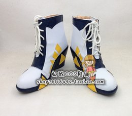Wholesale Digimon Cosplay - Wholesale-Digimon Adventure YAGAMI TAICHI Cosplay Boots shoes new version #JZ089 hand made Custom made