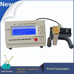 Wholesale Multifunction Tester - Wholesale-Timegrapher Watch Tester Machine Multifunction Timegrapher 1000 for Watches repairers and hobbyists