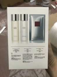 Wholesale Good Female - 2017 NEW Famous Brand 75ML TREATMENT ESSENCE+75ML CREAM LOTION+ 6PCS MASK face care set high quality good prcie fast free shipping