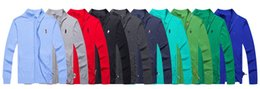 Wholesale Horse Pullover - POLO sweater Free shipping 2018 hot high quality mile wile polo brand men's twist sweater knit cotton small horse sweater jumper pullover