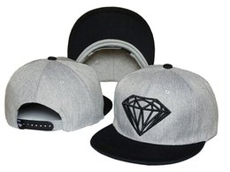 Wholesale Snapbacks Hats Diamonds - Wholesale sport hat Snapback diamond snapbacks baseball Caps unisex basketball football mdns caps scott hats diamond caps mdns hats