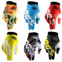Wholesale Mountain Moto - 2017 new Motocross 100 Percent Ridefit AM Bike Gloves MTB Mountain Bike Moto Motorcycle TLD DH Cycling Bicycle 100% Gloves