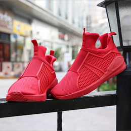 Spring Newest Men Shoes Run Air Mesh Zapatos transpirables Hombres Zapatos casuales Slip-On Trend Y3 Mocasines Planos Mens Trainers Black Red White desde fabricantes