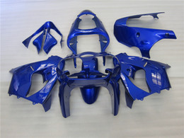 Wholesale Bike Body Fairings - New ABS Fairings kits fit for kawasaki 00 01 ZX 9R Ninja ZX9R 2000 2001 motorcycle bike aftermarket body fairing set glossy blue