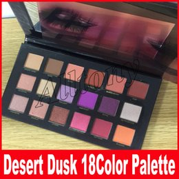 Wholesale Eyeshadow 18 Colors - DESERT DUSK Eyeshadow 18 colors Palette Shimmer Matte Eye shadow Pro Eyes Makeup Cosmetics free DHL