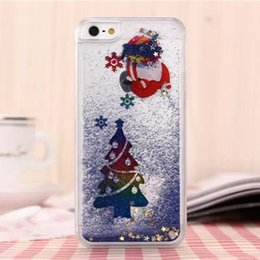 Wholesale I5 Accessories - Luxury Christmas Rhinestone Case for Apple Iphone 5s Glitter Pink PC Cover Mobile Phone Accessories I5 5 Se for Iphone 6 6s Plus