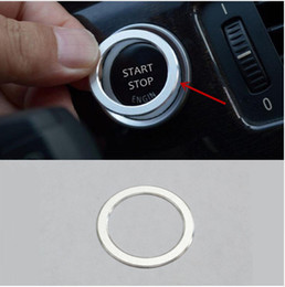 Wholesale Keys Frame - 2017 Car Center Console Key Start Button Frame Decoration Cover Trim Sequins For BMW Z4 2009-15