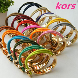Wholesale Womens Party - High quality New Beautiful 10 colors womens bracelets, Famous brand luxury letter M bracelets bangles Fine Jewelry for gift