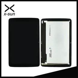 Wholesale Pc Assembly - Wholesale- X-SUN 10.1'For LG G Pad 10.1 V700 VK700 LCD Screen Display+Digitizer Touch Glass Assembly Repairment Parts Tablet Pc