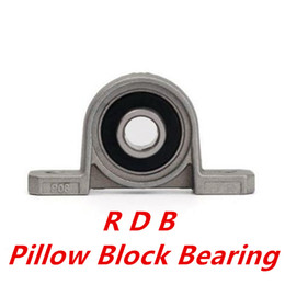 Wholesale Shaft Block Bearing - Wholesale- new KP004 k004 p004 20mm kirksite bearing insert bearing shaft support zinc alloy mounted bearings pillow block