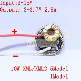 Wholesale Led 12v Current Driver - Wholesale-5 Mode 1Mode Constant Current 2800mA DC 12V XML T6 Led Driver For Cree XML XM-L2 LightingTransformers 5 Mode