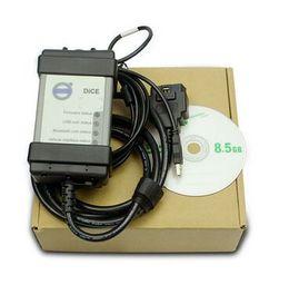 Wholesale Volvo Vida Cable - Full Chip For Volvo Vida Dice Newest 2014D Diagnostic Tool Multi-Language For Volvo Dice Pro Vida Dice Green Board Full Function