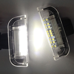 Wholesale Led Magotan - 2X 6000K LED Courtesy light for VW Golf5 Golf6 Jetta Touran Scirocco Passat Skoda Phaeton MAGOTAN Sagitar Welcome Door Light