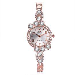 Wholesale Round Bracelet Patterns - Women Vintage Watches Brand SOXY Elegant Luxury Quartz Fashion circular Dial Watch Carved Patterns Bracelet Casual Wrist Watches Wholesale