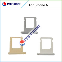 """Wholesale Iphone Tray Holder - SIM Card Tray for Apple iPhone 6 4.7"""" Sim Card Holder Repair Replacement DHL Free Shipping"""