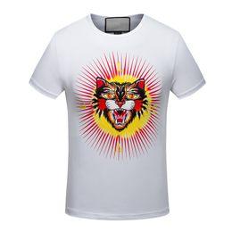 Wholesale Hip Hop Tassels T Shirt - 17 My skull t-shirt men] black T-shirt 100% cotton Skull Pattern of heavy rock hip-hop clothing black N Mens Short T-shirt M-3XL