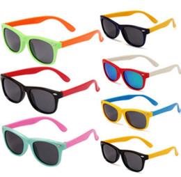 Wholesale Toddlers Glasses Frames - Stylish Baby Toddler Kids Boys Girls Frame Outdoor Sunglasses Polarized Glasses kids Sunglasses Polarized Glasses KKA3338