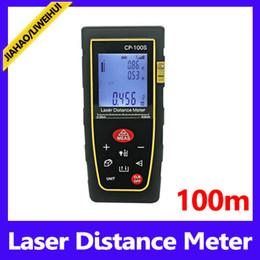 Wholesale Mini Laser Meter - Wholesale-Digital laser tape measure distance meter 100m mini laser distance meter MOQ=1 free shipping