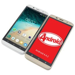 """Wholesale Dual Model Wifi Cell Phone - 5.0"""" H-mobile V4 SC6820 Android 4.4.2 Phone Single Core 256MB Dual Camera 854*480 Cell Mobile Phone Bluetooth + Retail Package DHL"""