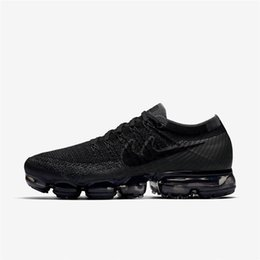 Wholesale Full Air - 2018 New VaporMax Men Running Shoes For Men Sneakers Knitting Fashion outdoor trainers Athletic Sport Shoe Full palm air cushion