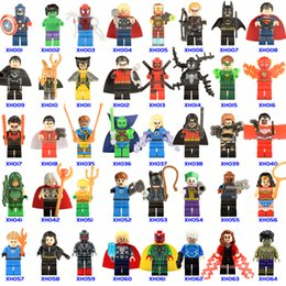 Wholesale Spiders Toys - 507+ Building Blocks Super Hero Figures Toys The Avengers Toys spider-man Toys Mini Action Figures Bricks Christmas gifts