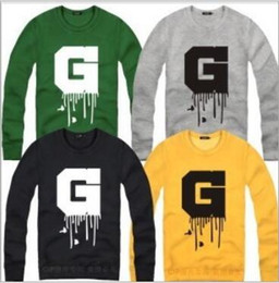 Wholesale Korean Winter Clothes For Men - Free shipping neutral Korean version sweatshirt Hip hop BIGBANG Letters coats clothing fashion Hoodies fleece pullover for spring winter swe