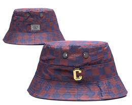 Wholesale Bucket Hat Mens - 2016 new fashion Football Bucket Hats Football Caps plaid Fisherman Hats Cap Womens Mens Sports Cap High Quality Outdoor Headwears All Team