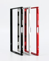 Wholesale Metal Case Xperia - Original LJY Protective Bumper Frame case for SONY XPERIA XZ Premium XZP 5.5inch Cell Phone Cases Ultra Thin