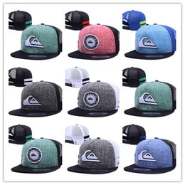 Wholesale Nets Sport Hats - Top Selling cheap hot Unisex net baseball cap swag cap Casual Outdoor Sport snapback hat for Men cap women gorra casquette Wholesale free