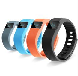 Новый модный TW64 FITBIT браслет смарт-часы фитнес-трекер активности Bluetooth 4.0 Smartband спорт браслет для android ios от Поставщики модный вид спорта