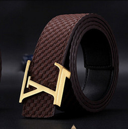 Wholesale Genuine Leather Women Belts - 2017 New Famous Brand Fashion High Quality Genuine Leather Popular Belt Brand Mens Belts for men and women Belt
