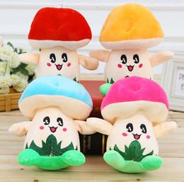 vídeos laranja Desconto 18 centímetros rosa oficial laranja cogumelo boneca de pelúcia brinquedos de pelúcia cogumelos