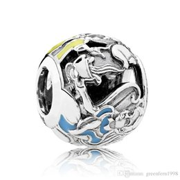 Wholesale Diy Cross Charms - New 925 Sterling Silver Bead Charm Alice Classic Mad Hatter's Tea Party Beads Fit Women Pandora Bracelet Bangle DIY Jewelry