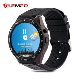 Wholesale golden maps - LEMFO kw88 Android 5.1 Smart Watch 512MB + 4GB Bluetooth 4.0 WIFI 3G Smartwatch Phone Wristwatch Support Google Voice GPS Map
